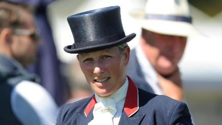 Zara Phillips helped Team GB to silver