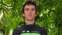 Geraint Thomas claimed the yellow jersey in the Tour de Romandie