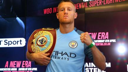 Terry Flanagan plots to emulate Ricky Hatton and fight at Manchester City | BT Sport