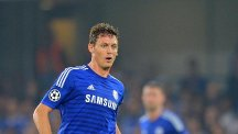 Nemanja Matic, pictured, has drawn high praise from his Chelsea team-mate John Terry