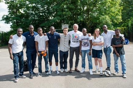 The Tottenham Hotspur Foundation uses sport, specifically football, to create life-changing opportunities for children