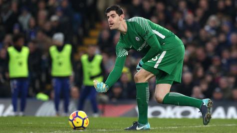 Thibaut Courtois unhappy with Chelsea's boo-boys