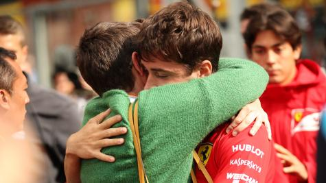 Leclerc takes emotional maiden F1 win at Spa