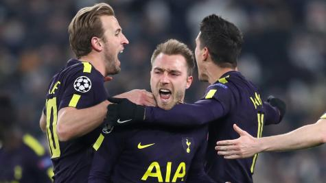 Tottenham have grown up, according to Christian Eriksen