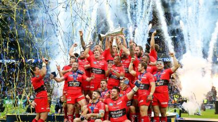 Toulon showered with Clermont ribbons!