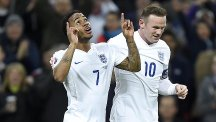 Raheem Sterling, left, is heading back to Liverpool after opening his England account