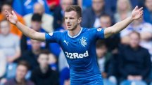 Andy Halliday took Joey Barton's place in the Rangers side for the clash with Ross County