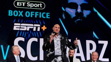 Fury v Schwarz to be shown exclusively live on BT Sport Box Office | BT Sport