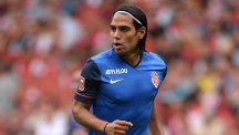 Radamel Falcao will have a medical at Old Trafford