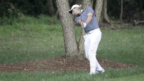 Stroud 1 stroke off lead at PGA Championship