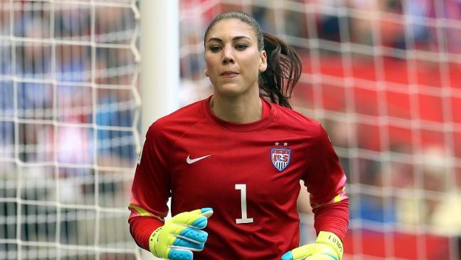 a17a13162 USA goalkeeper Hope Solo handed six-month ban after calling Sweden