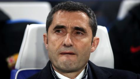 Valverde hits out at state of pitch after Barcelona's victory at Real Valladolid