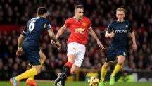 Robin van Persie has 18 months left on his Manchester United contract