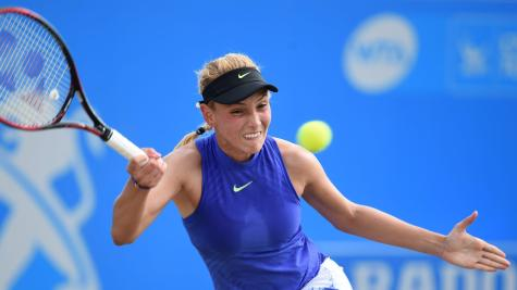 Vekic edges out Konta in three sets to clinch Aegon Open crown in Nottingham