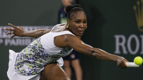 Venus Williams beats sister Serena in straight sets at Indian Wells