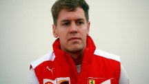 It is all change for Sebastian Vettel now he is wearing the red of Ferrari