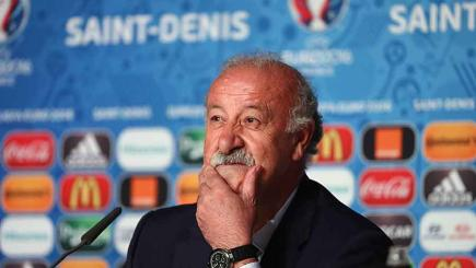 Del Bosque not planning major changes for Italy