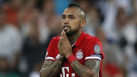 Vidal rages at referee who 'robbed' Bayern of Champions League semi-final place
