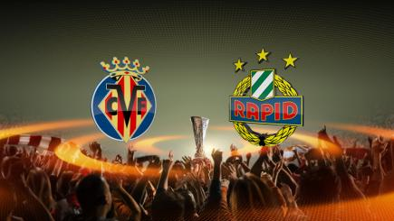 Villarreal versus Rapid Vienna, Europa League