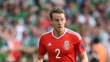 Chris Gunter will have to miss his brother's wedding if Wales beat Belgium