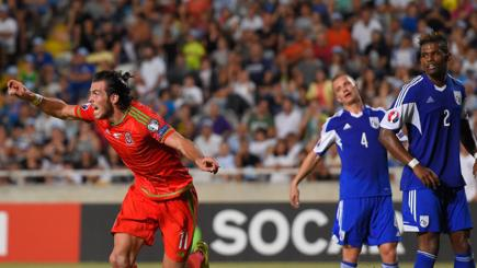 Bale on target as Wales edge closer to Euros