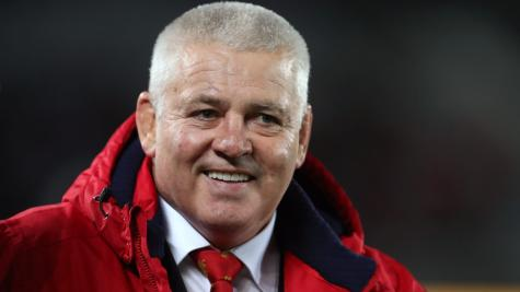 Warren Gatland will 'never say never' to taking charge of future Lions squad