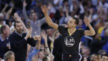 Steph Curry top-scored in Golden State's win (AP)
