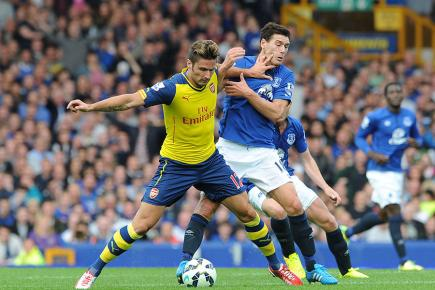 Watch Arsenal tackle Everton live on BT Sport 1, Sunday, 2.05pm.