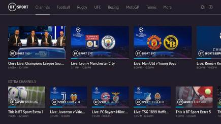 Watch BT Sport on Xbox, PS4, Samsung TV and Apple TV | BT Sport