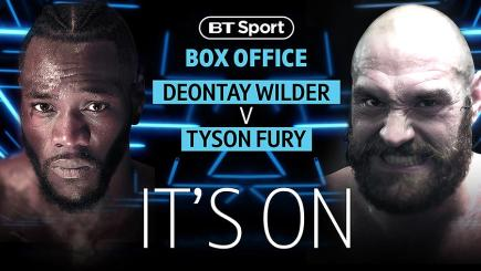 Fury v Wilder mega-fight to be shown exclusively live on BT Sport | BT Sport