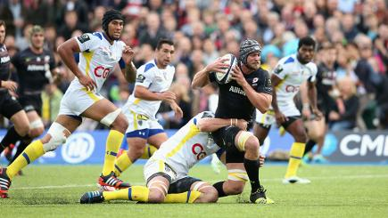 Watch highlights from the opening round of the European Rugby Champions Cup.