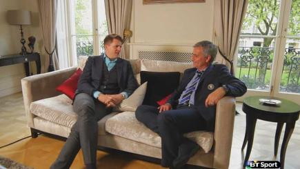 Watch Jose Mourinho talking exclusively to BT Sport's Jake Humphrey