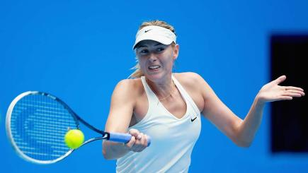 Watch Maria Sharapova in action at the China Open in Beijing.