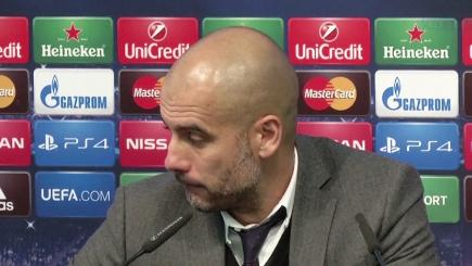 Watch Pep Guardiola give a frank review of Bayern Munich's defeat by Manchester City