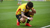 Daryl Janmaat faces a lengthy spell on the sidelines with a shoulder injury