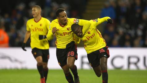 Watford come from behind to beat Leicester City