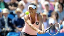 Heather Watson made an early exit in China