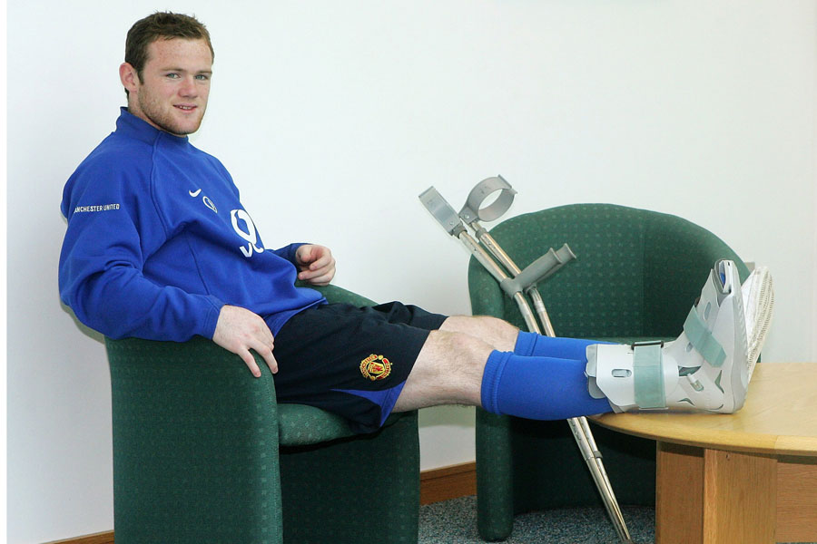 Wayne Rooney Injury History