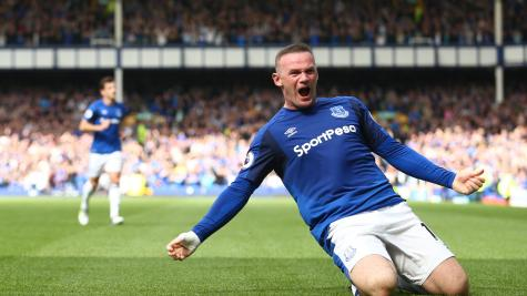Wayne Rooney rolls back the years with winner for Everton