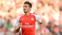 Arsenal's Olivier Giroud is facing a lengthy spell out