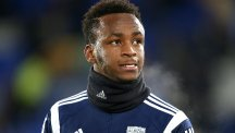 Saido Berahino, pictured, is going nowhere according to West Brom chairman Jeremy Peace