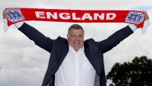 England manager Sam Allardyce is preparing for his first game in charge