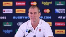 England head coach Stuart Lancaster's position is under scrutiny after the team were dumped out of the World Cup