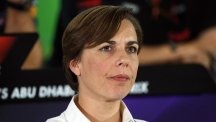 Williams deputy team principal Claire Williams, pictured, has turned to home-grown talent Alex Lynn to become the team's development driver for the new Formula One season