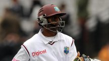Shivnarine Chanderpaul hit a century on Tuesday morning before the West Indies bowled Bangladesh out in the afternoon to win the second Test