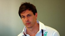 Toto Wolff, pictured, understood Lewis Hamilton's decision to change tyres