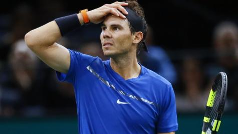World number one Rafael Nadal fit and raring to go in London