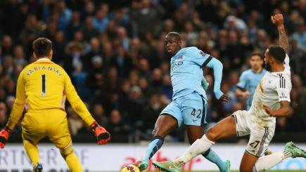 Toure strike seals City victory