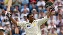 Pakistan's Younis Khan hit his 25th Test century on day one against Australia