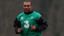 Simon Zebo, pictured, has warned Ireland to be on guard against England full-back Alex Goode when the teams clash in Dublin on Sunday